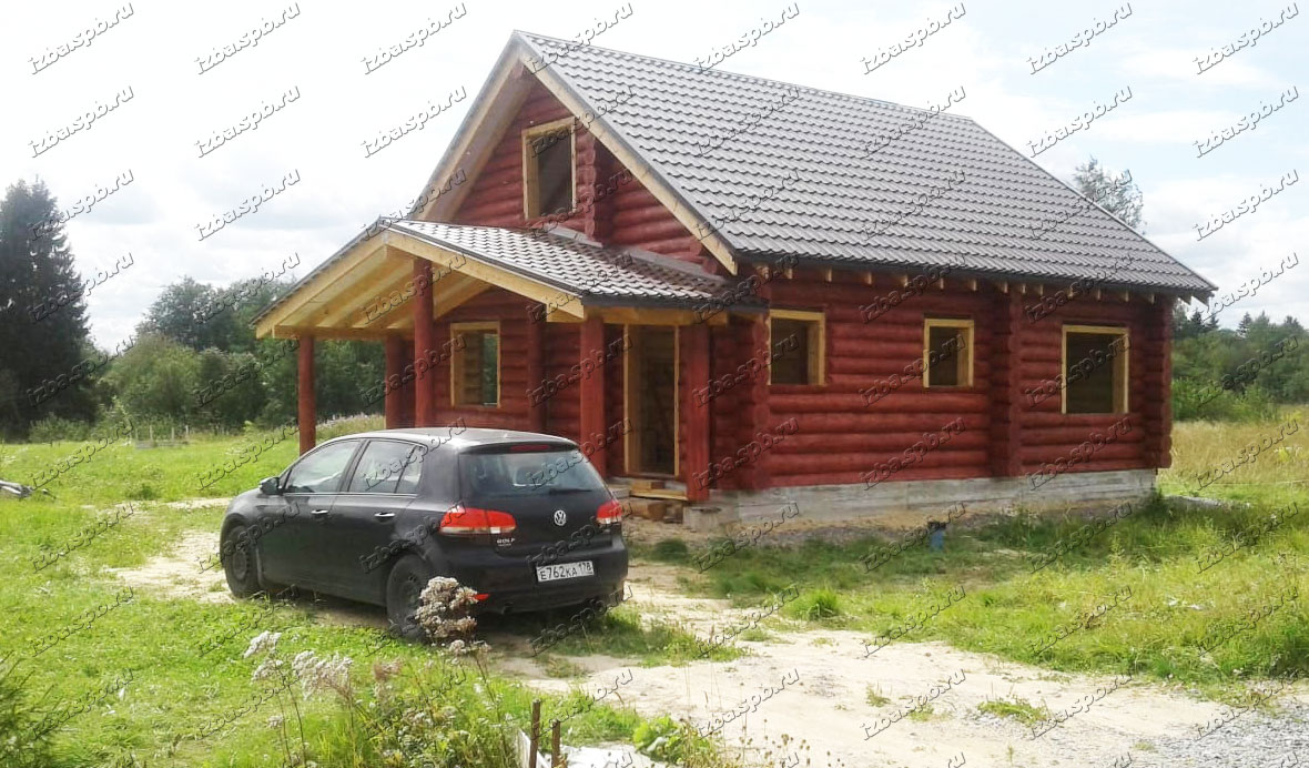 Дом 9х11 в п. Федоровское