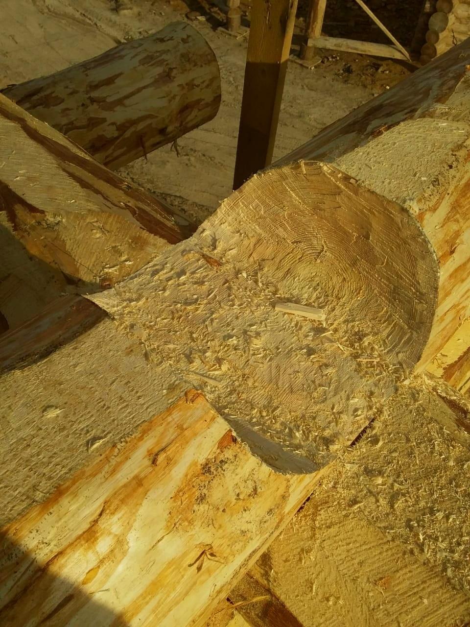 Технология реконструкции памятника архитектуры в Кижах