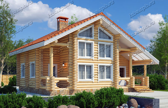 Проект-дома-из-бревна-Белинский
