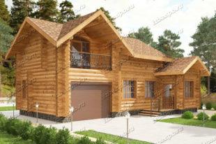 Проект-дома-из-бревна-Бунин