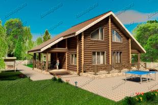 Проект-дома-из-бревна-Державин