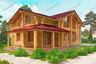 Проект-дома-из-бревна-Лермонтов