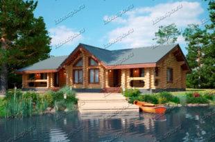 Проект-дома-из-бревна-Ломоносов
