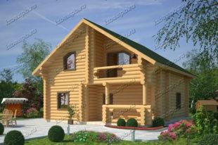 Проект-дома-из-бревна-Некрасов-2