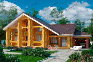 Проект-дома-из-бревна-Рахманинов,-вид2