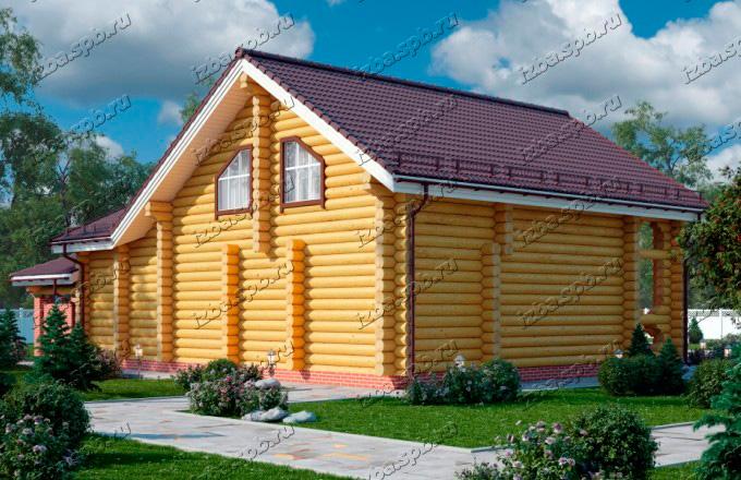 Проект-дома-из-бревна-Рахманинов