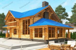 Проект-дома-из-бревна-Распутин
