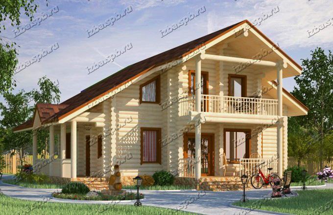Проект-дома-из-бревна-Солженицын