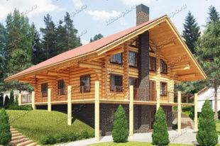 Проект-дома-из-бревна-Толстой