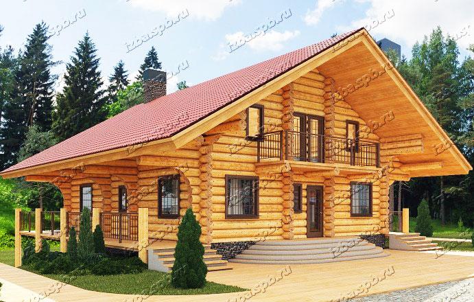Проект-дома-из-бревна-Толстой.