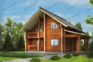 Проект-дома-из-бревна-Вагнер-2