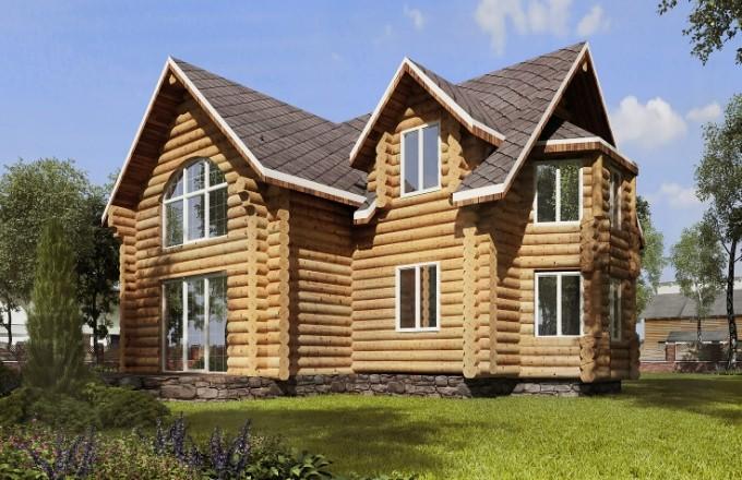 Как выбрать подходящий проект бревенчатого дома