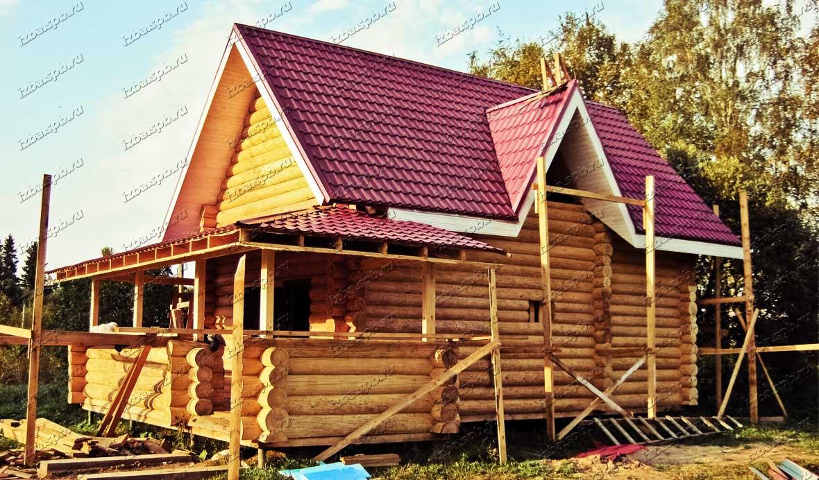 Бревенчатый-дом-в-Луге
