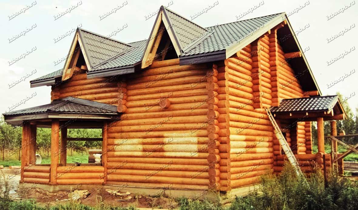 Дом 9х12 в г.Луга