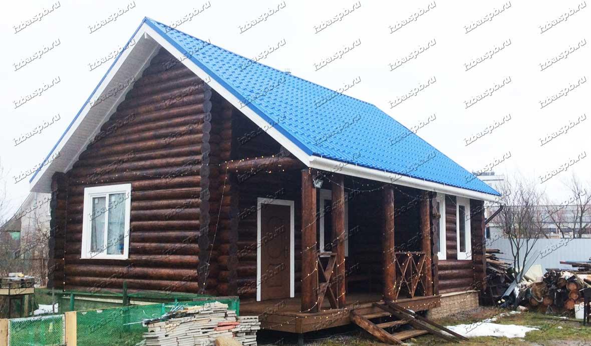 Деревянный-бревенчатый-дом-в-Новоселье