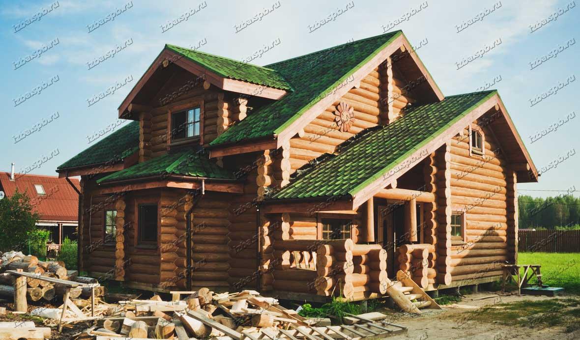Дом 13х13 в п.Турышкино