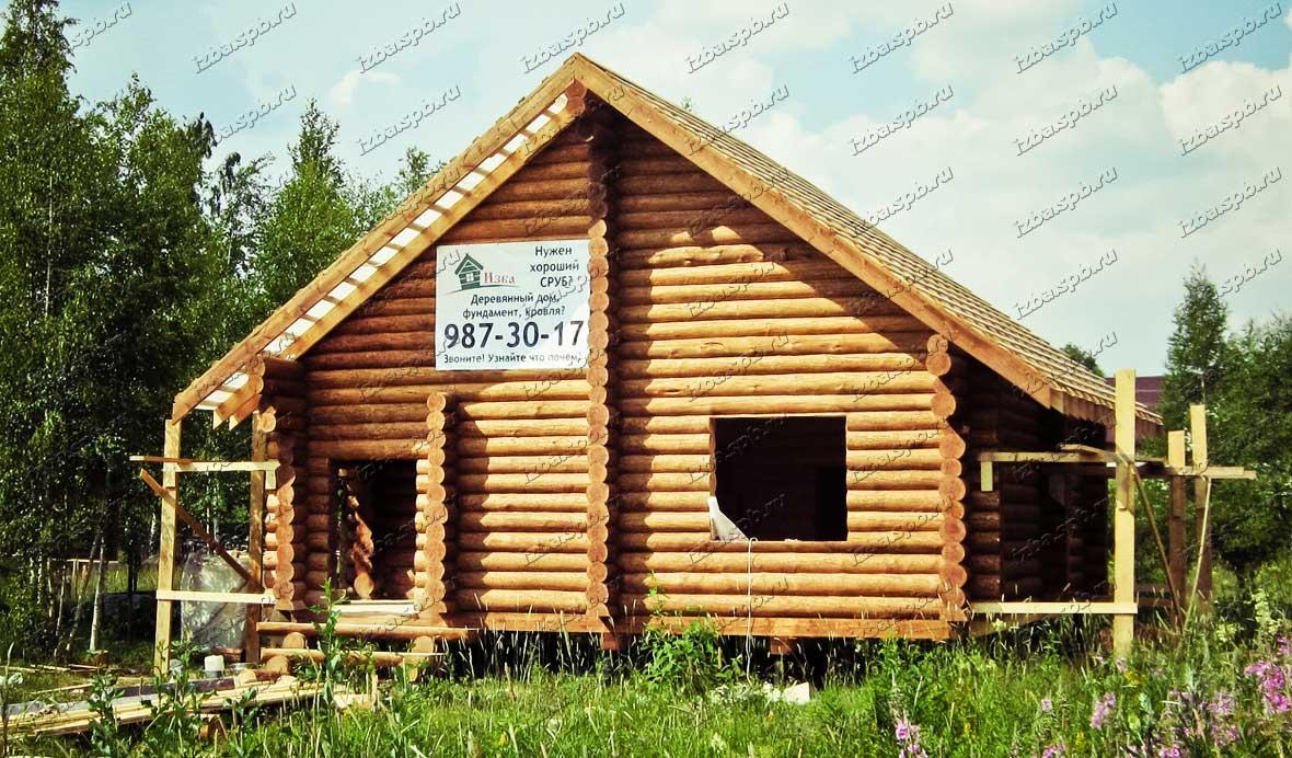 Дом 9х9 в СНТ Николаевское