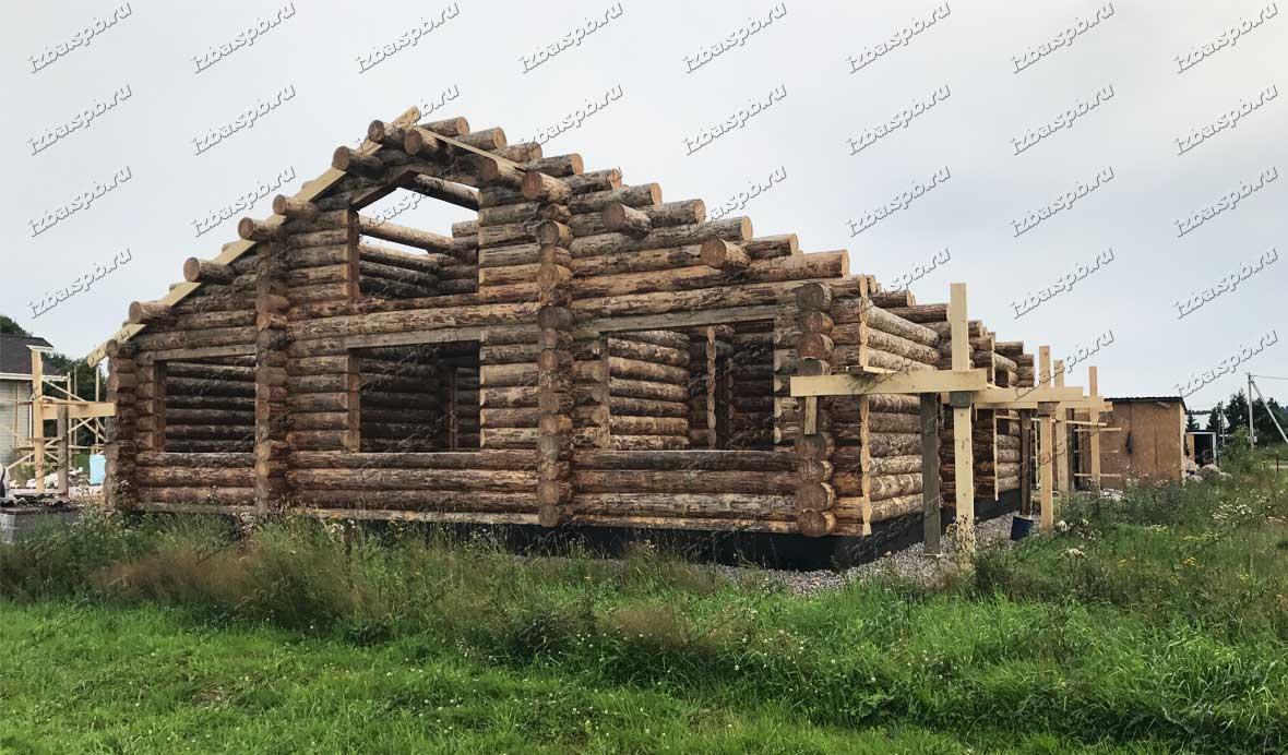 Сборка-дома-в-п.-Новые-ольшаники