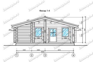 Баня-из-бревна-10х12-вид1-(проект-Н479)