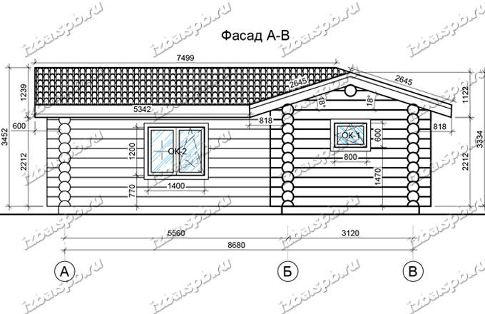 Баня-из-бревна-9х10-вид-3-(проект-И117)