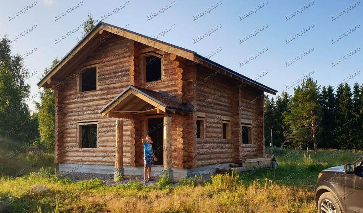 Дом 9х9 в п. Лебяжье