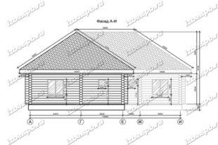 Дом-баня-из-бревна-14х17-вид-1-(проект-Н394)