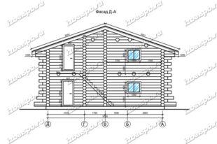 Дом-из-бревна-10х16-вид-2-(проект-954)