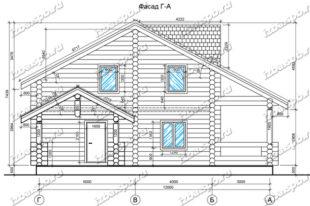 Дом-из-бревна-11х13-вид-1-(проект-Н284)