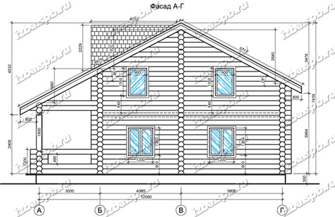 Дом-из-бревна-11х13-вид-2-(проект-Н284)