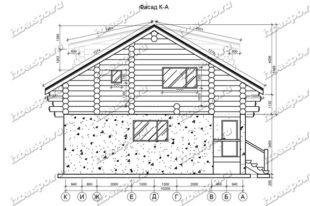 Дом-из-бревна-11х14-вид-1-(проект-1012)