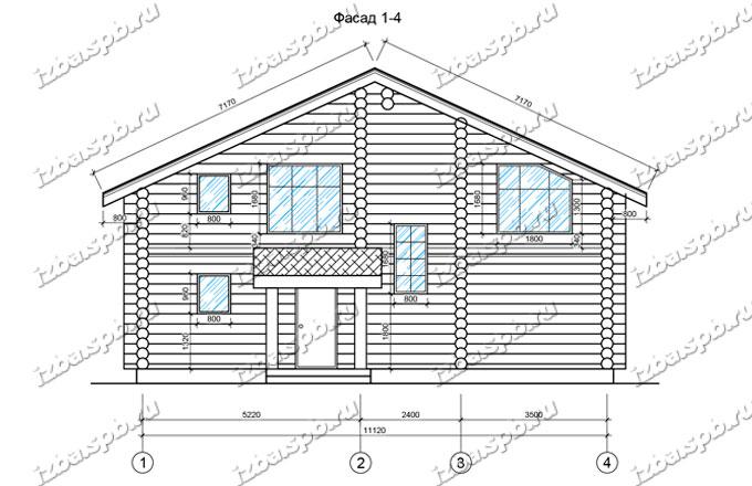 Дом-из-бревна-12х15-вид-2-(проект-Ф375)
