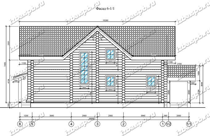 Дом-из-бревна-14х17-вид-3-(проект-Н211-дом)
