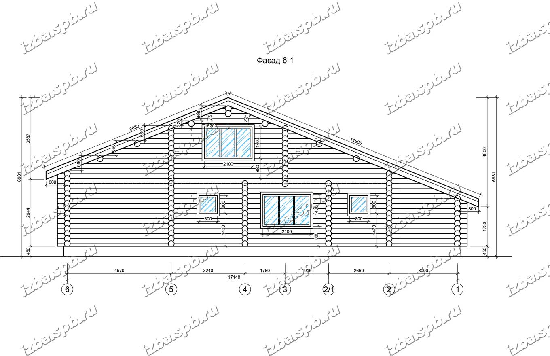 Дом-из-бревна-18х14-вид-2-(проект-С199)
