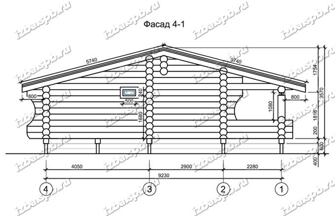Дом-из-бревна-6х10-вид-2-(проект-Л217)-