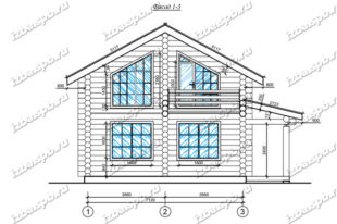 Дом-из-бревна-8х9-вид-1-(проект-А0012)