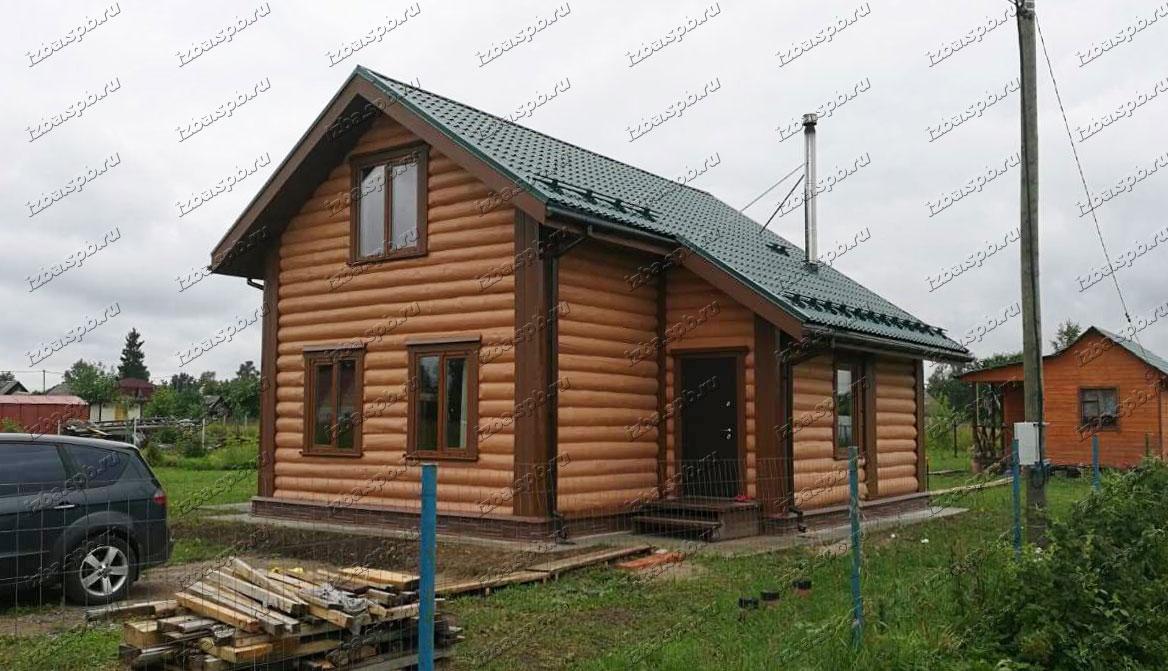 Дом 9х10 в д. Куровицы