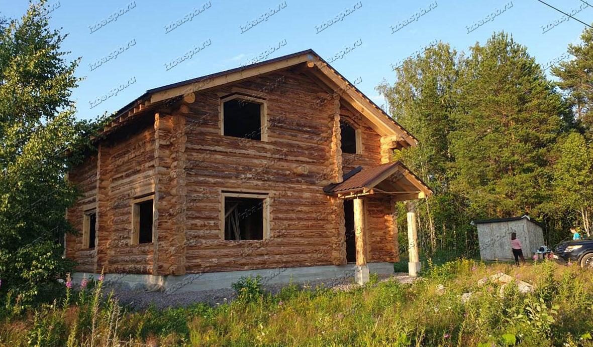 Дом-из-бревна-9х9-в-СНТ-Возрождение-п.-Лебяжье
