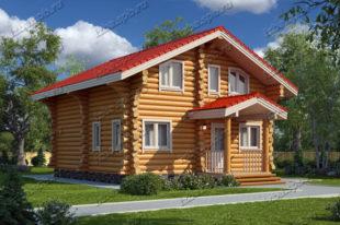 Проект-дома-из-бревна-Репин