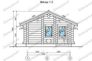 Баня-из-бревна-6х7-вид-1-(проект-1020)