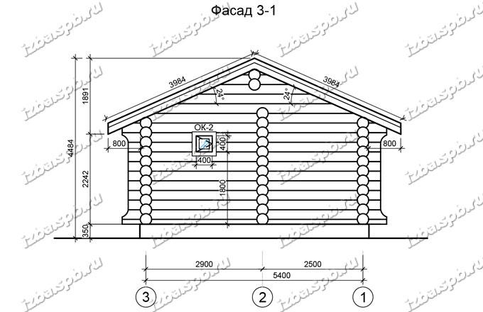 Баня-из-бревна-6х7-вид-2-(проект-1020)
