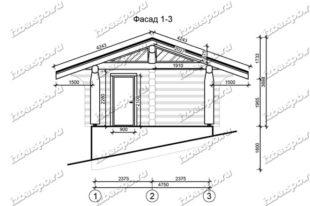 Баня-из-бревна-6х9-вид-1-(проект-1017)