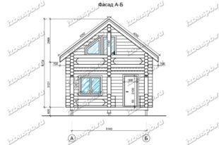 Дом-баня-и-бревна-6х8-вид-1-(проект-Л487)