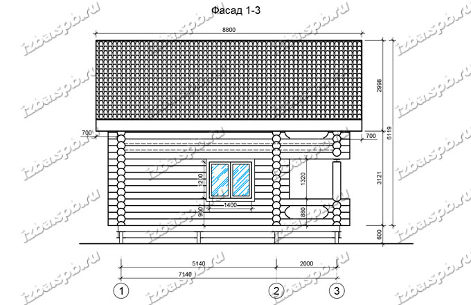 Дом-баня-и-бревна-6х8-вид-3-(проект-Л487)