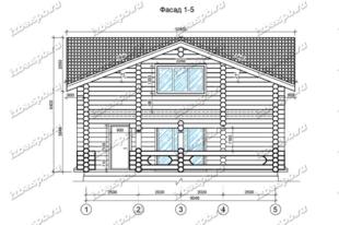 Дом-из-бревна-10х11-вид-1-(проект-Н673)