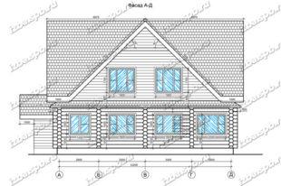 Дом-из-бревна-12х15-вид-1-(проект-Л254)