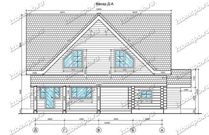 Дом-из-бревна-12х15-вид-2-(проект-Л254)