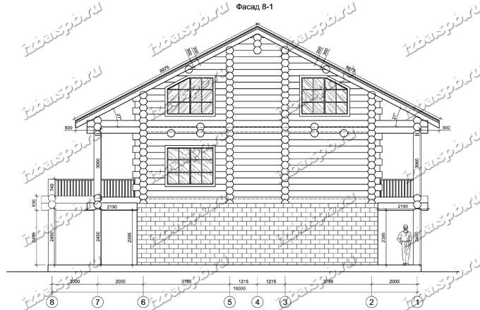 Дом-из-бревна-12х16-вид-2-(проект-А0107)