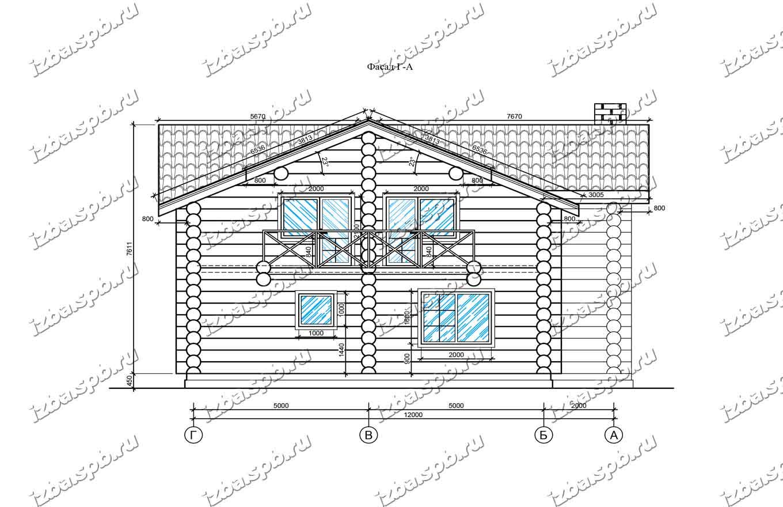 Дом-из-бревна-13х16-вид-2-(проект-Л85)