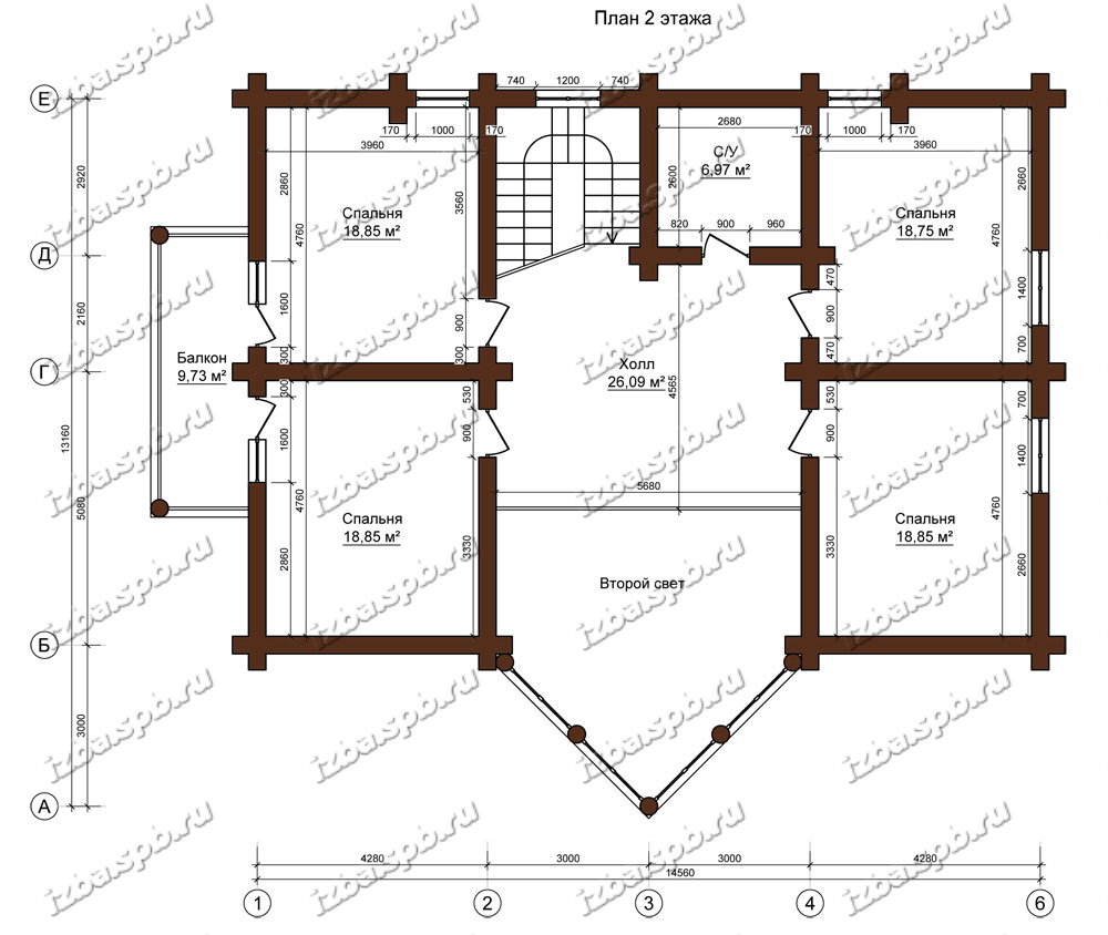 Дом-из-бревна-15х22-план-2-этажа-(проект-Н637-дом)