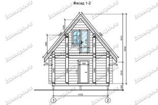 Дом-из-бревна-6х8-вид-1-(проект-Н303)